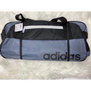 NWT Adidas Core Squad Black Duffel